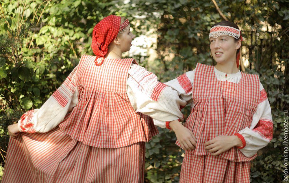 народный костюм, одежда для женщин