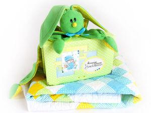 Подарочный набор на рождение малыша | Ярмарка Мастеров - ручная работа, handmade