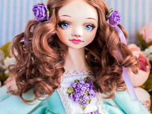 Валери авторская кукла, интерьерная кукла, коллекционная кукла, будуарная кукла. Ярмарка Мастеров - ручная работа, handmade.