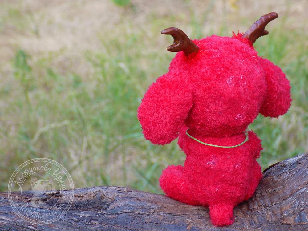 сова, авторская игрушка