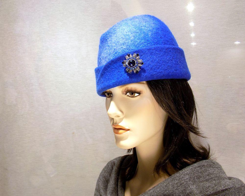 валяние для начинающих, шляпка