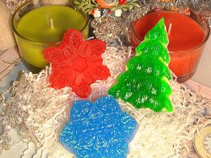 Мастер-класс по мыловарению «Новогодние мотивы». Ярмарка Мастеров - ручная работа, handmade.
