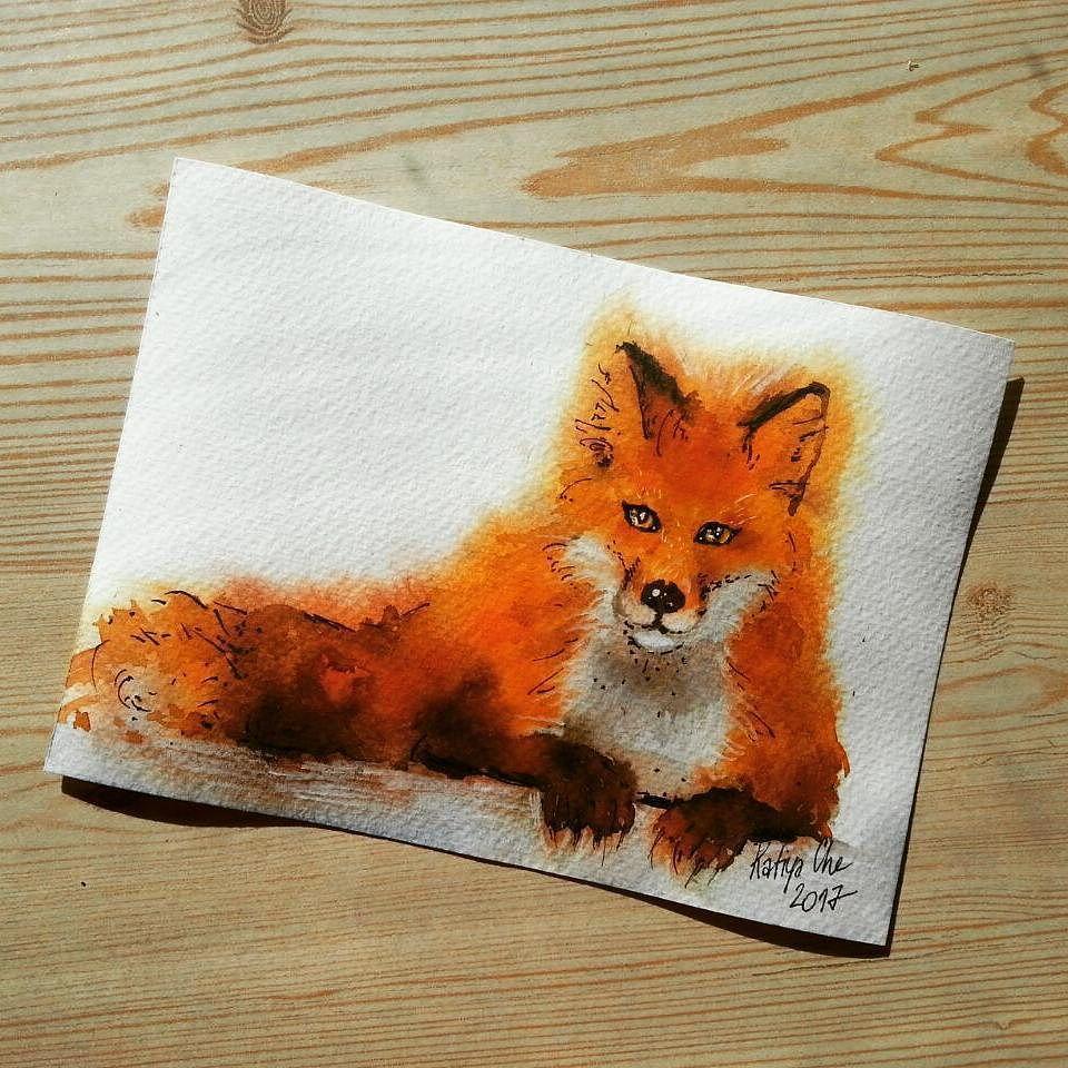 Красный лис открытки сайт, доченька открытки добрый