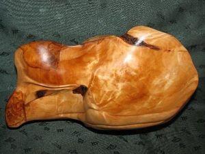 Деревянная ваза ручной работы. Ярмарка Мастеров - ручная работа, handmade.