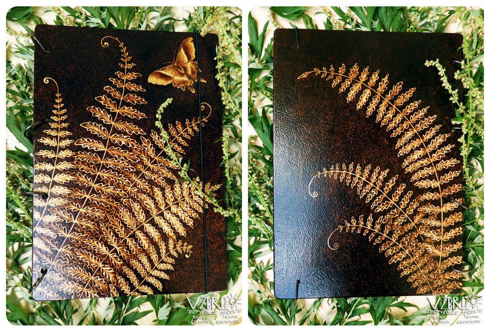vzbrelo, деревянные блокноты, пирография, стекло, гербарий, рекомендуем, фото из мастерской