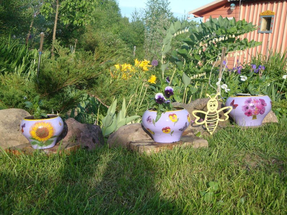Картинки на тему украшение сада