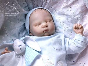 Куколка реборн из молда Spencer от Wendy Dickison. Дополнительные фото.. Ярмарка Мастеров - ручная работа, handmade.