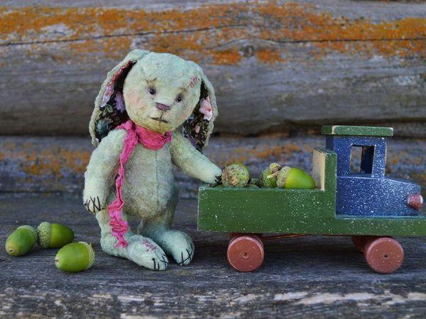 Аукцион на винтажную зайку   Ярмарка Мастеров - ручная работа, handmade