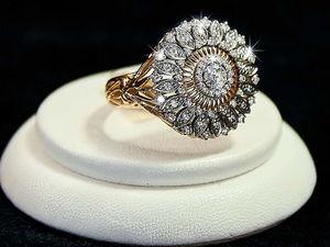 Видео кольца Ледяная георгина. Ярмарка Мастеров - ручная работа, handmade.