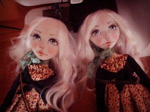 Простой способ сделать выразительное кукольное личико. Ярмарка Мастеров - ручная работа, handmade.