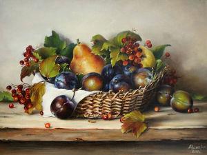 Аукцион на Осень в корзинке. Ярмарка Мастеров - ручная работа, handmade.