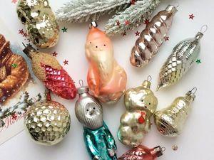 100 дней до Нового года. Скидки на советские елочные игрушки. Ярмарка Мастеров - ручная работа, handmade.