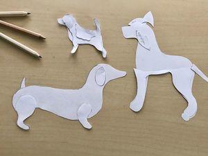 Построение выкройки собаки в трех разных техниках: видеоурок. Ярмарка Мастеров - ручная работа, handmade.
