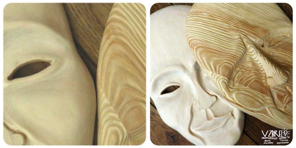 взбрело, резьба по дереву, творческий процесс, интерьерные маски, закулисье, трудовые будни, липа