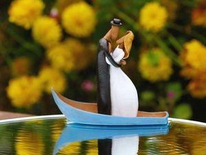 Очень люблю лодочки, водную тему. Ярмарка Мастеров - ручная работа, handmade.