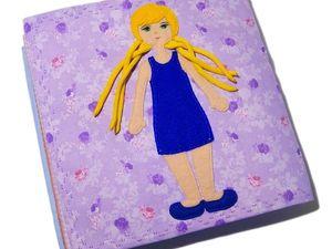 Видеообзор развивающей книжки для девочек. Ярмарка Мастеров - ручная работа, handmade.