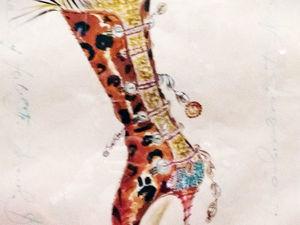 Manolo Blahnik, выставка в Эрмитаже: разделы «Сердце» и «Архитектура и искусство». Ярмарка Мастеров - ручная работа, handmade.