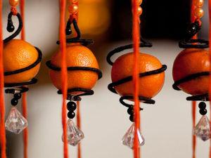 Мандарин как источник новогоднего настроения. Ярмарка Мастеров - ручная работа, handmade.