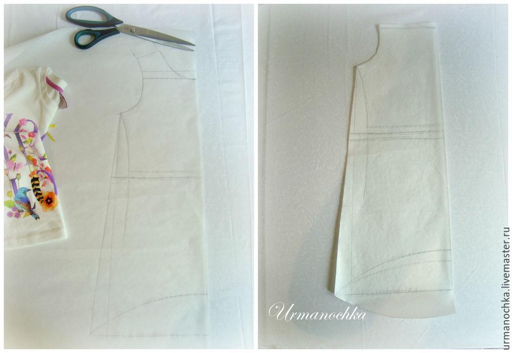 мастер-класс, платье ручной работы
