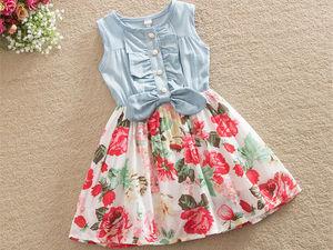 Летние платья для маленьких модниц. Ярмарка Мастеров - ручная работа, handmade.