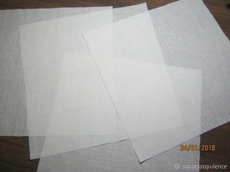 Making Handkerchiefs with Tatting Lace, фото № 3