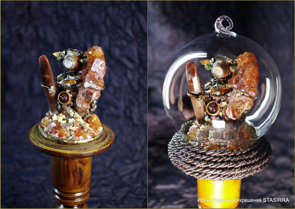 сувенир из минералов