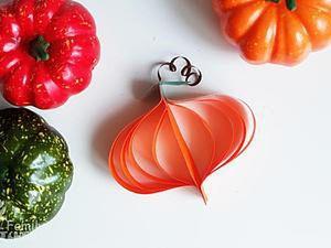 DIY for Kids: Paper Pumpkins. Livemaster - handmade