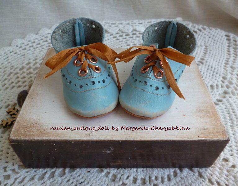 обувь ручной работы, туфли для кукол