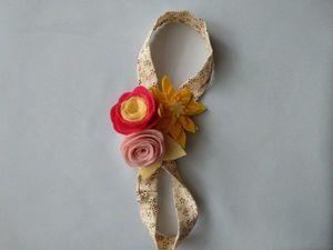 Почему бабочки и повязки))). Ярмарка Мастеров - ручная работа, handmade.