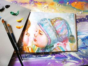 Уроки живописи: первичные необходимые оттенки для масляных картин. Ярмарка Мастеров - ручная работа, handmade.