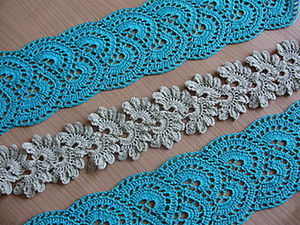DIY Crocheting a Lace Tape. Livemaster - handmade