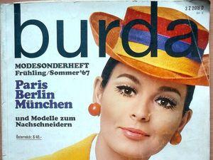 Burda Moden, Каталог мод 1967 года. Ярмарка Мастеров - ручная работа, handmade.