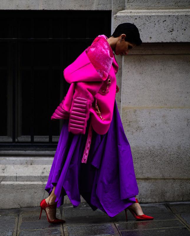 фиолетовый, март