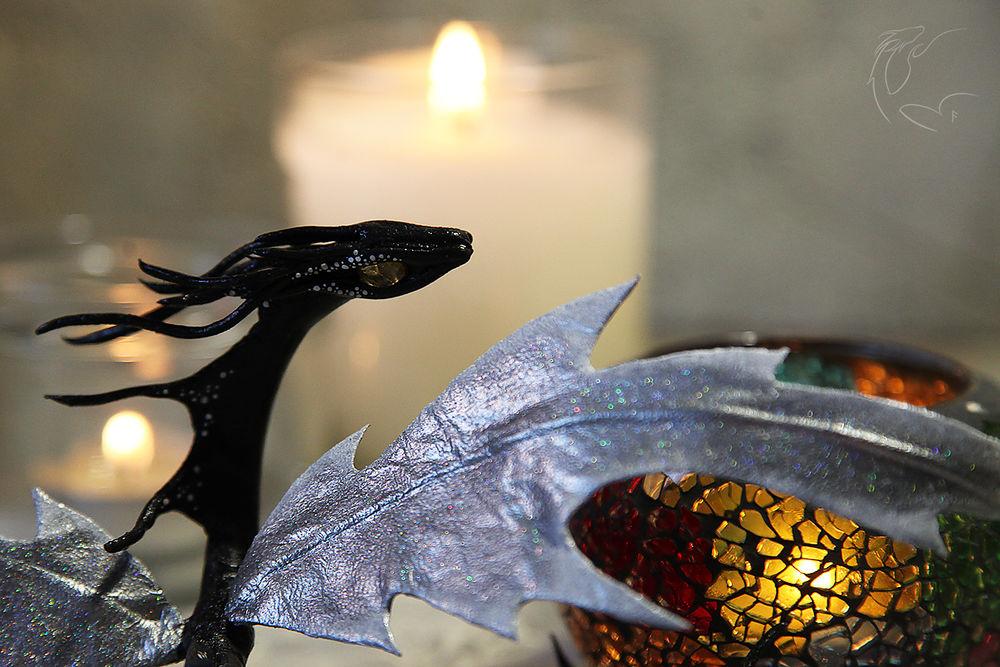 дракончик, натуральная кожа