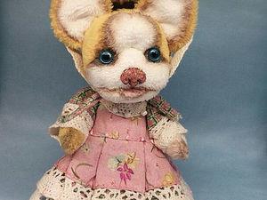 Желтая собака Аманда ищет свой дом.. Ярмарка Мастеров - ручная работа, handmade.