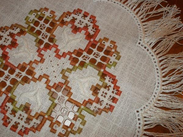 Вышивка хардангер для начинающих | Ярмарка Мастеров - ручная работа, handmade