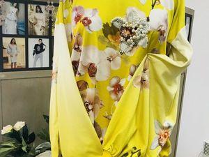 Трикотажная блуза с вышивкой -80%. Ярмарка Мастеров - ручная работа, handmade.