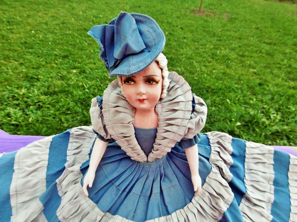 будуарная салонная кукла