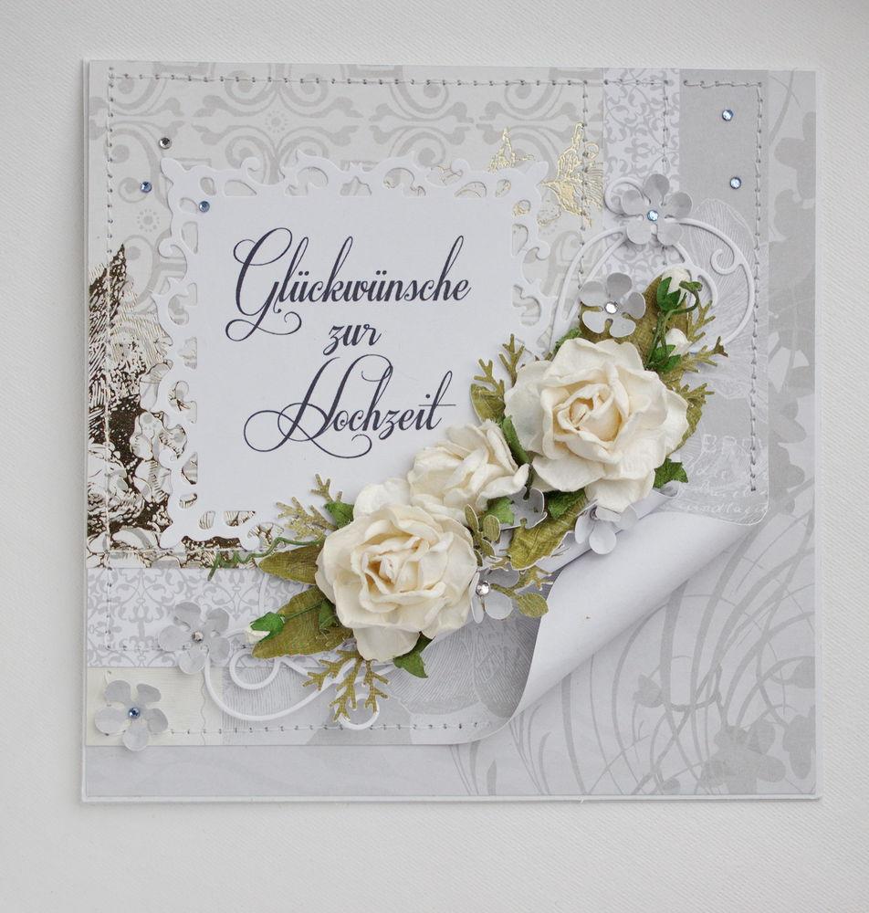 свадебная открытка, ручная работа