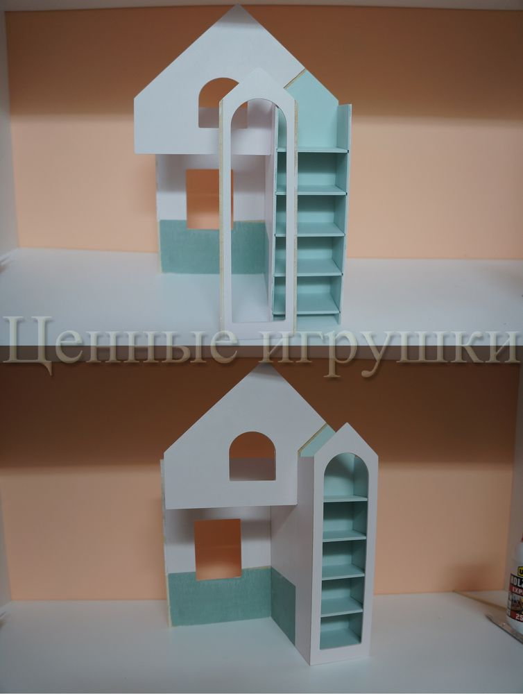Мастер класс по сборке и оформлению кроватки домика., фото № 15