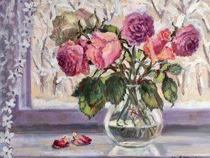 Зимние розы — новинка магазина!. Ярмарка Мастеров - ручная работа, handmade.