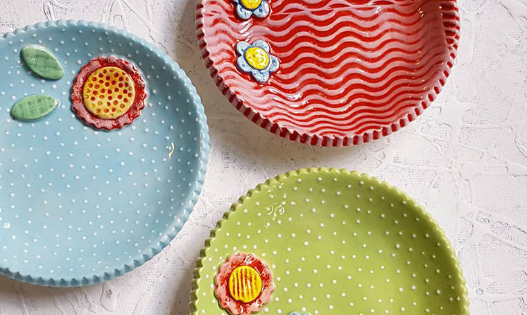 A Love Affair with Clay: Bright Pottery by Charity Hofert, фото № 16