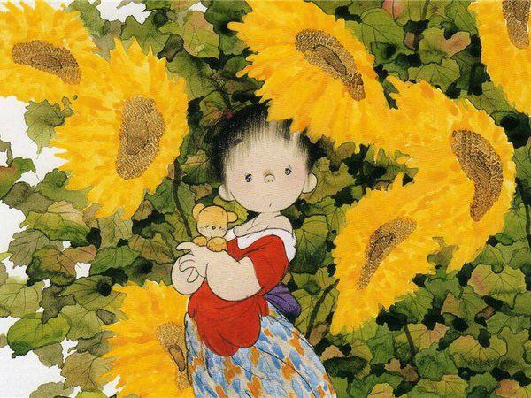 Чудесные, трогательные работы японского иллюстратора Nakajima Kiyoshi | Ярмарка Мастеров - ручная работа, handmade