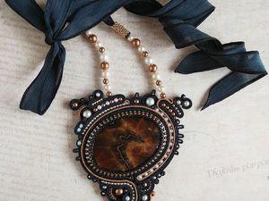 Видео кулона с симбирцитом. Ярмарка Мастеров - ручная работа, handmade.