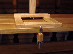 Крепление для моталки. Ярмарка Мастеров - ручная работа, handmade.