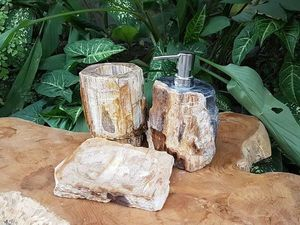 Бесплатная доставка и подарки при покупке раковины из окаменелого дерева!. Ярмарка Мастеров - ручная работа, handmade.