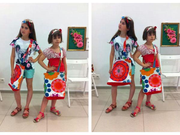 Видео мастер-класс: шьем вместе с детьми летнюю сумку и стильную повязку для волос | Ярмарка Мастеров - ручная работа, handmade