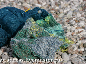 Шарфы, шапки и вязание у самого синего моря. Ярмарка Мастеров - ручная работа, handmade.