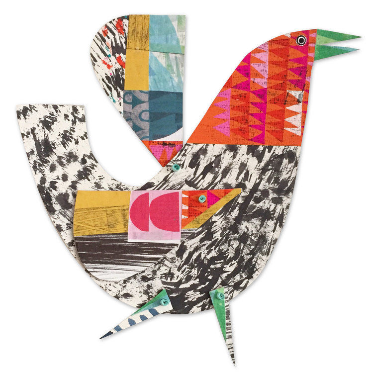 Cheerful Animals of Paper and Fabric by the Designer Clare Youngs, фото № 7