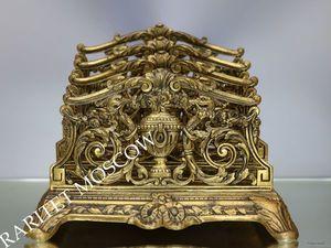 Раритетище Салфетница Большая бронза Depose 23. Ярмарка Мастеров - ручная работа, handmade.